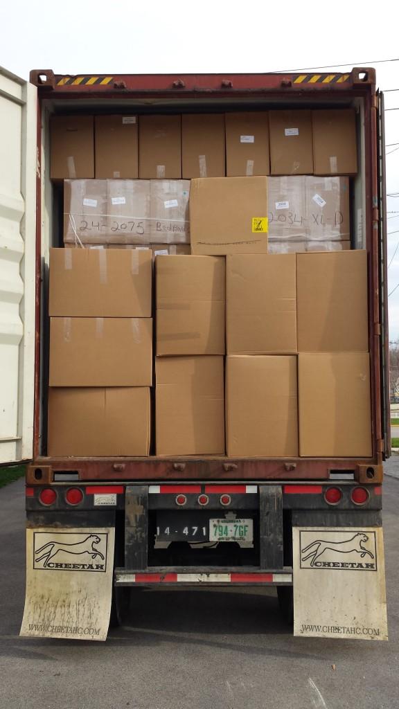 Image of UAOH Shipment